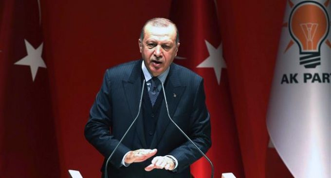 Erdogan censures NATO for not helpimg in Turkey's Syria operations