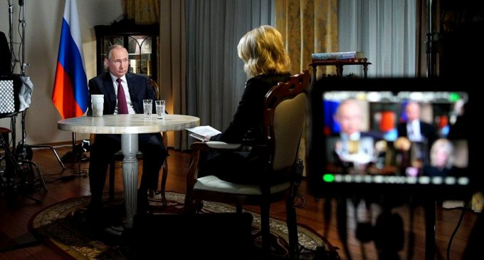 NBC Gives a Boost to Vladimir Putin's Presidential Campaign