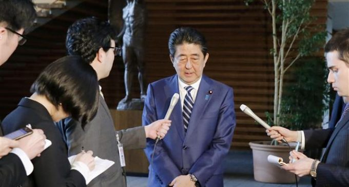 Japan PM Abe denies involvement in discount land sale