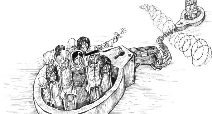 The Artwork of Palestinian Cartoonist Mohammad Sabaaneh