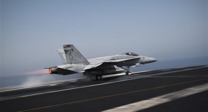 US Navy F-18 jet crashes, killing two aviators