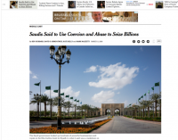 American PR Firm Defends Its Role in Saudi Arabia's Corruption Crackdown
