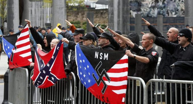 Report Reveals White Supremacists Are Taking Hate Offline and Onto the Streets