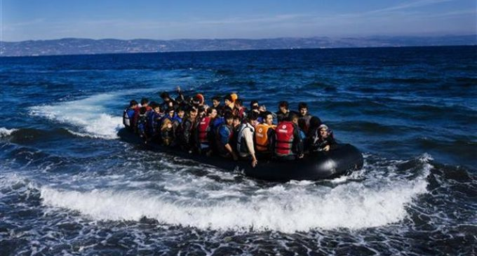 At least 14 dead as refugee boat sinks off Greek island