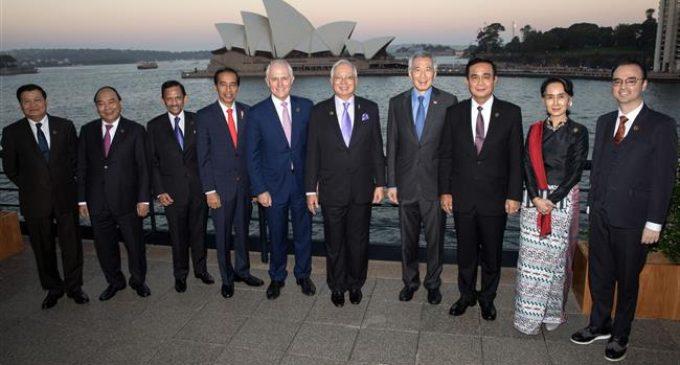 ASEAN, Australia leaders press Myanmar over Rohingya crisis