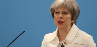 May to Russia: UK won't tolerate threat to Britons