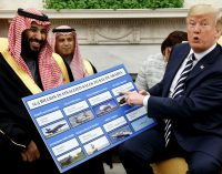 Trump Touts Arms Deals As Saudi Prince Kicks Off US Tour