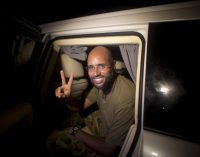 "Gaddafi's Son Hopes to ""Restore the National State and Sovereignty"" in Libya"