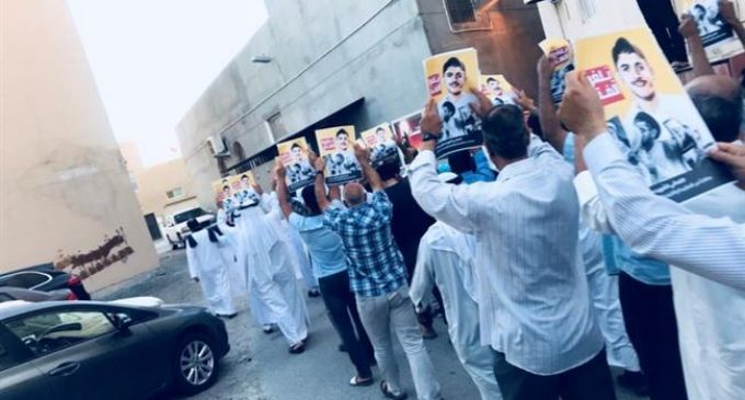 Bahrainis hold rallies in solidarity with martyrs