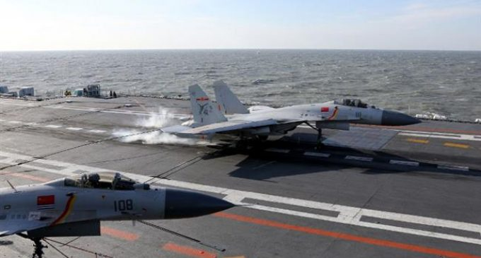 China air force holds drill in preparation for 'future wars'