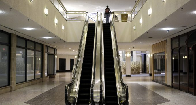 Rich Keep Saks in Clover, Poor Keep TJMaxx Growing, But No Middle to Shop at Sears
