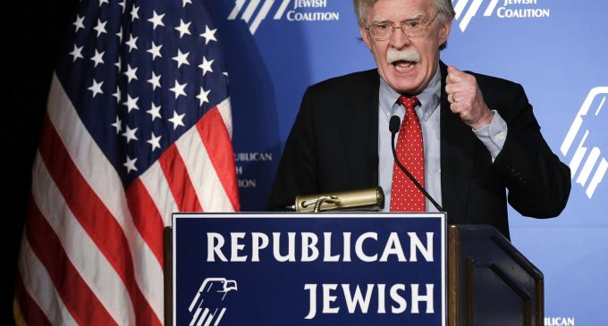Bolton's Past Advocacy for Israel at US Expense Heralds Dangerous New Era in Geopolitics