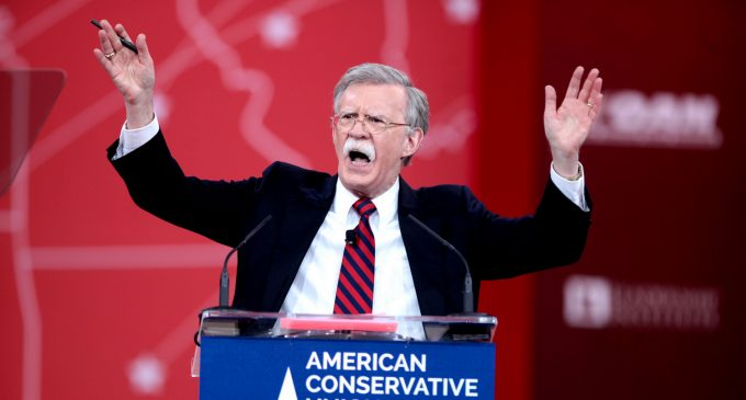 "Regime Change, Partition, and ""Sunnistan"": John Bolton's Vision for a New Middle East"
