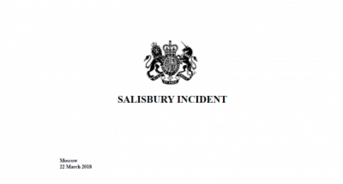 """""""Russia Agression """" Features listed by the British Ministry of Foreign Affairs"""