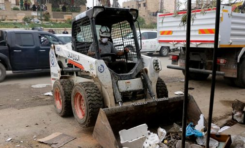 """""""First Responder"""" White Helmets Reemerge as Experts in Defusing Explosives in Syria's Afrin"""