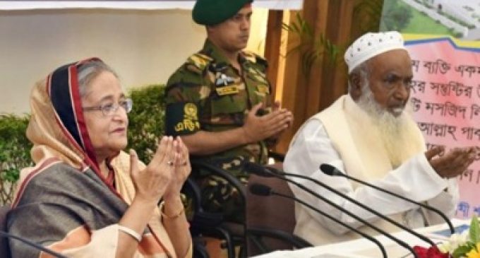 "Saudi Arabia will build 560 ""model"" mosques (sic) in Bangladesh"