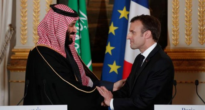 Saudi prince visit highlights public censure of France's arms deals