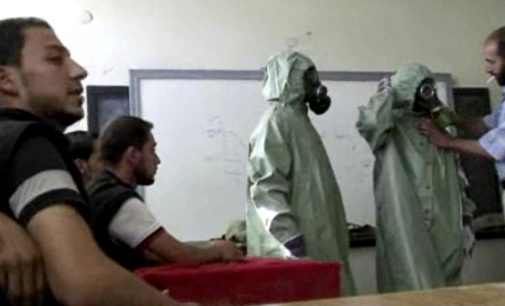 Russia Claims 'White Helmets' Staged Syria Chemical Attack