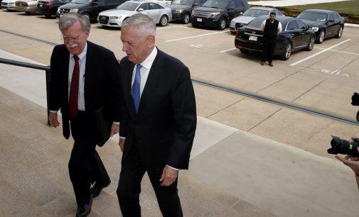 John Bolton And James Mattis Clash Over Syria Strategy