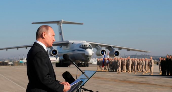 "Following Fresh US Sanctions over Syria Ties, Putin Warns Of Global ""Chaos"" If West Hits Syria Again"