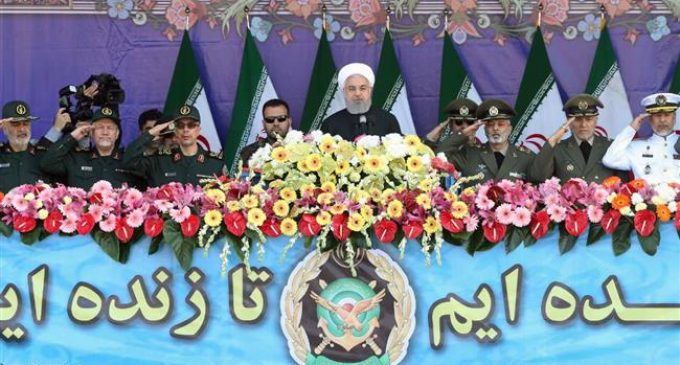 Iran marks National Army Day with military parade