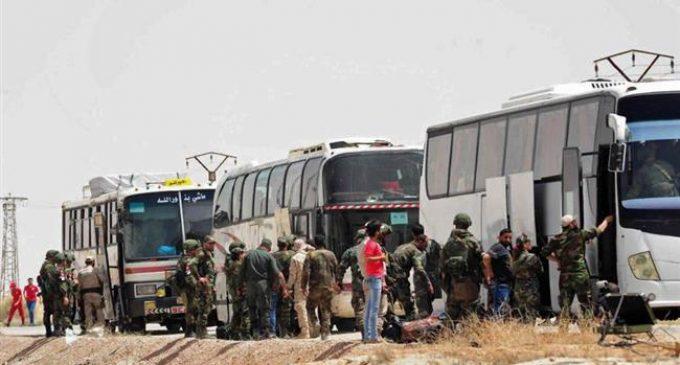 Takfiri Jaish al-Islam militants return Qalamoun town to Syrian government