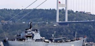 Russian weapons delivered to Tartus