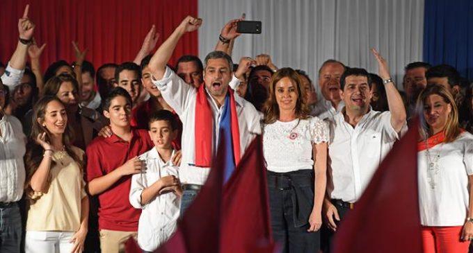 Conservative Abdo Benitez wins Paraguay presidency