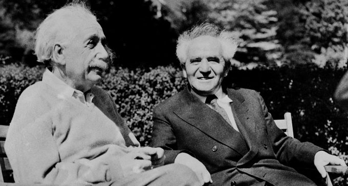 The Ghost of Herut: Albert Einstein on Israel, 70 Years Ago