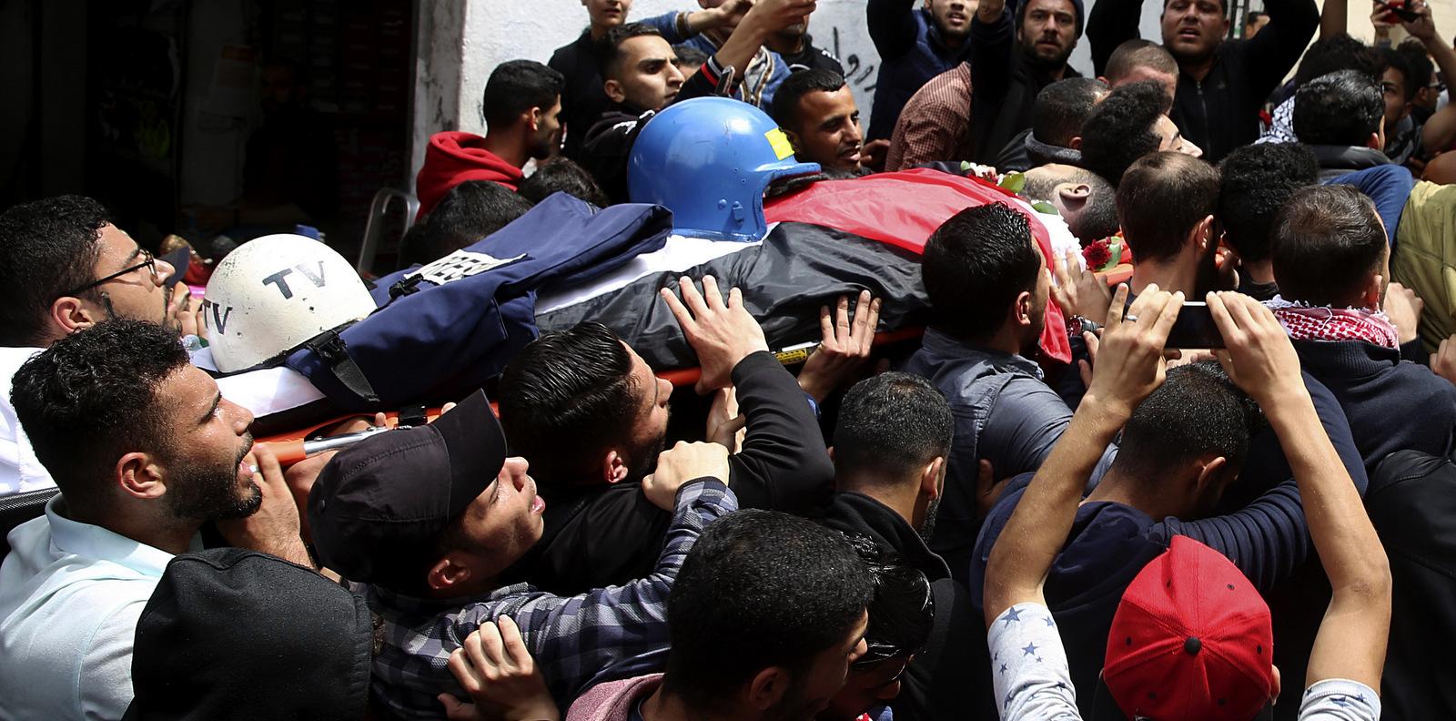 Gaza: Israeli Forces Kill Second Palestinian Journalist