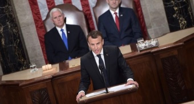 Emmanuel Macron's Speech at the United States Congress, by Emmanuel Macron