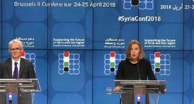 Brussels II Conference on 'Supporting the future of Syria and the region': co-chairs declaration