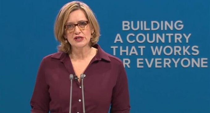 British Home Secretary Amber Rudd resigns over immigration fiasco