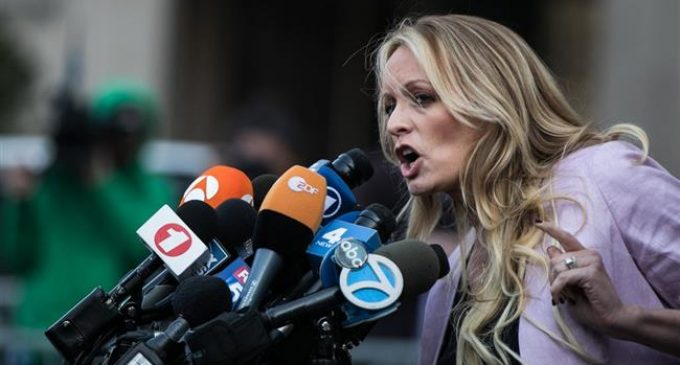 Adult movie actress files new defamation lawsuit against President Trump over tweet