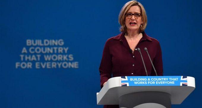 Amber Rudd resigns as UK Home Secretary