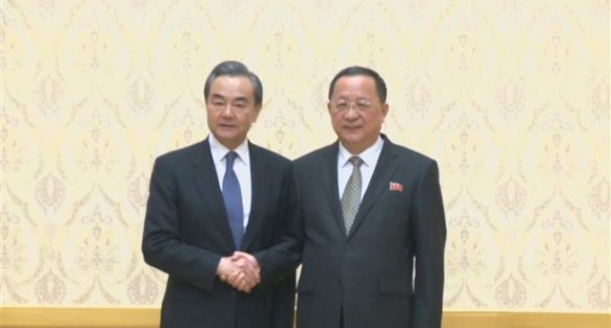 China expresses support for inter-Korean peace talks