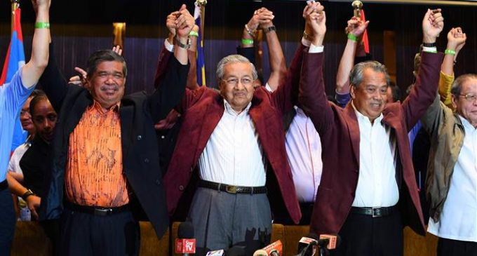 Malaysian opposition wins historic election victory: official results