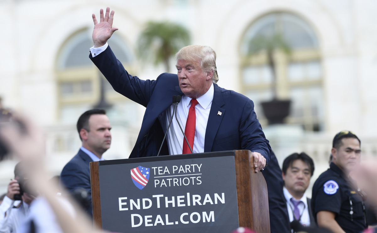 Trump Blows Up Iran Nuclear Deal, Aims Next at Blowing Up Iranian Government