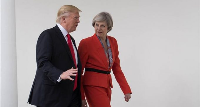 UK, EU partners 'firmly committed' to Iran deal: May tells Trump