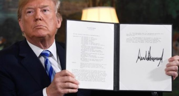 Ceasing U.S. Participation in the JCPOA and Taking Additional Action to Counter Iran's Malign Influence and Deny Iran All Paths to a Nuclear Weapon, by Donald Trump