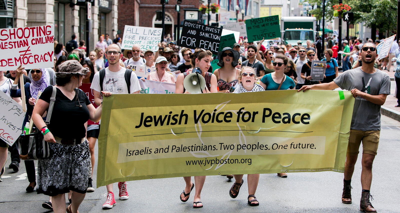 American Jews Stand Against the US Embassy Move and Israel's Mass Killing of Protesters in Gaza