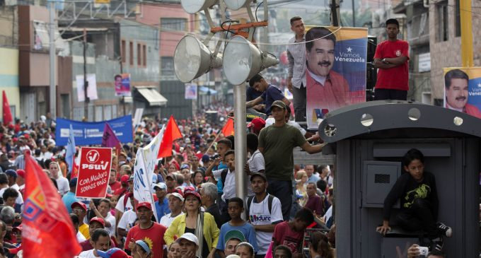 On the Eve of Venezuela's Elections, the US Empire Isn't Sitting Idly by