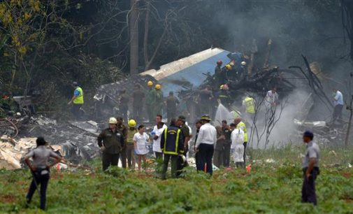 Boeing 737 crashes in Cuba with 104 on board: State media