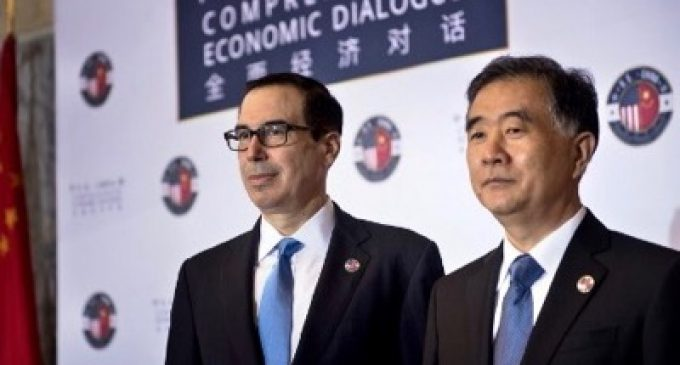 Joint Statement of the United States and China Regarding Trade Consultations