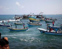 Israeli Occupation Forces Block Flotilla as it Leaves Gaza for Cyprus