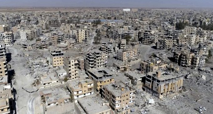 Amnesty: US-Led Coalition Committed War Crimes In Raqqa, Syria
