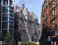 Fire breaks out at London's Mandarin Oriental hotel