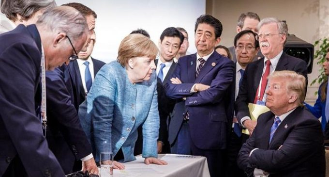 Germany accuses Trump of destroying trust with G7 tweets