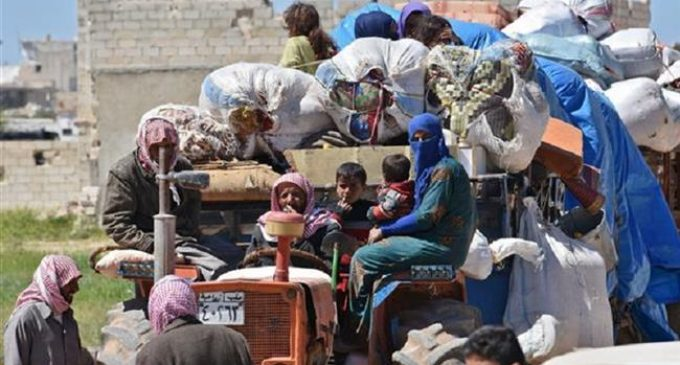 More than 920,000 displaced across Syria over past four months: UN
