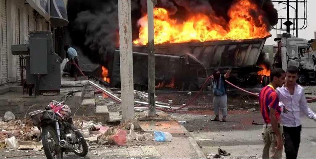 Civilians Flee As Saudi Coalition Targets Residential Districts in Yemen's Hodeida